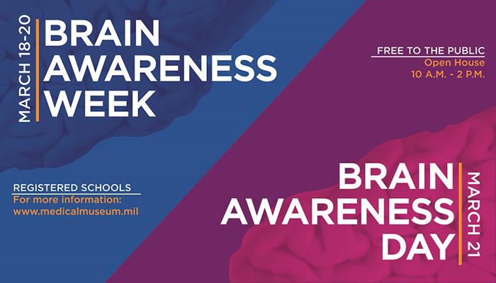 Brain Awareness Week and Day logo