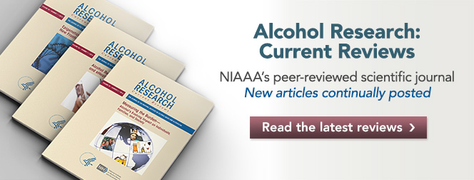 Alcohol Research: Current Reviews Image