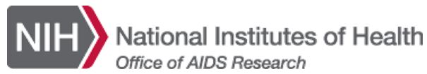 OAR logo National Institutes of Health: Office of AIDS Research