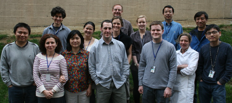 Picture of the SSP lab members