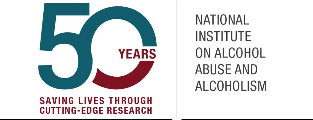 NIAAA 50th Anniversary Logo