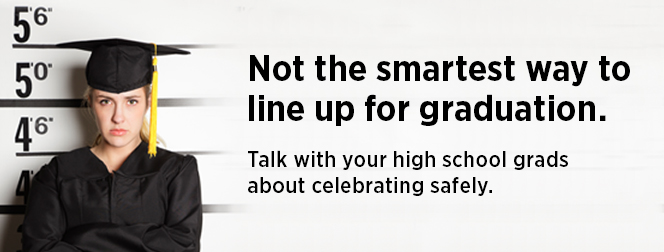 Talk with your high school grads about celebrating safely