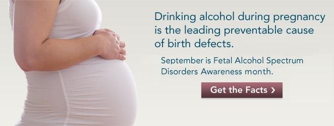 Fetal Alcohol Spectrum Disorders Awareness Month