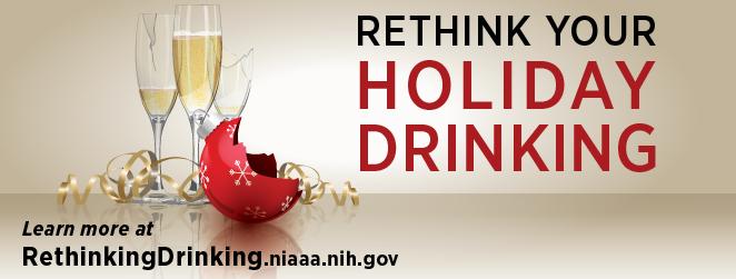 Rethink your holida drinking
