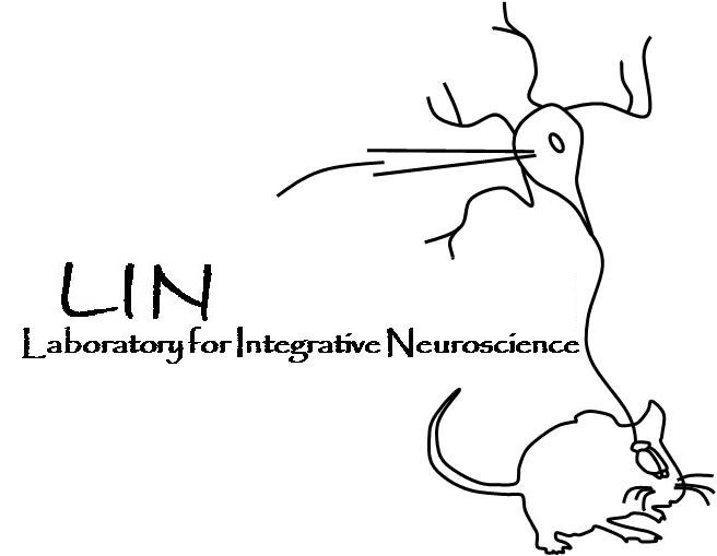 LIN logo shows neuron and mouse