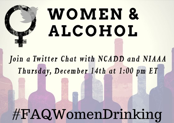 Women and Alcohol Twitter Chat December 14 with NCADD