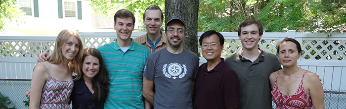 Picture of the SNS lab members in Summer 2012
