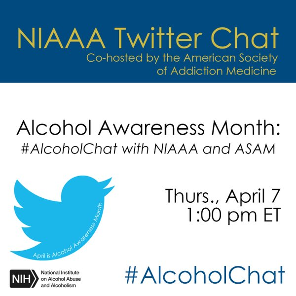 Twitter Chat April 7 with ASAM