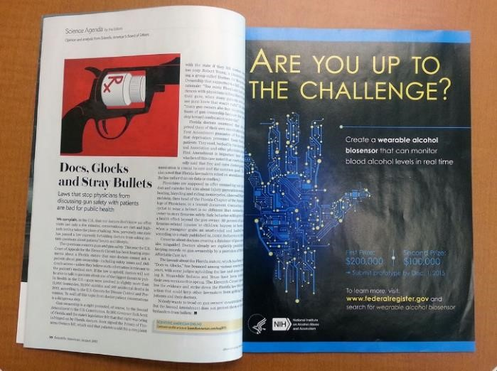 "Image of a full-page of ""Are You Up to The Challenge?"