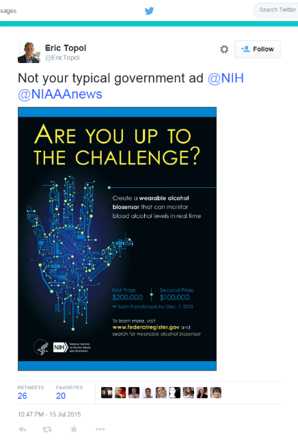 "Image of ""Are you up to the challenge?"" in NIH\NIAAA News"