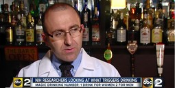 NIH RESEARCHERS LOOKING AT WHAT TRIGGERS DRINKING