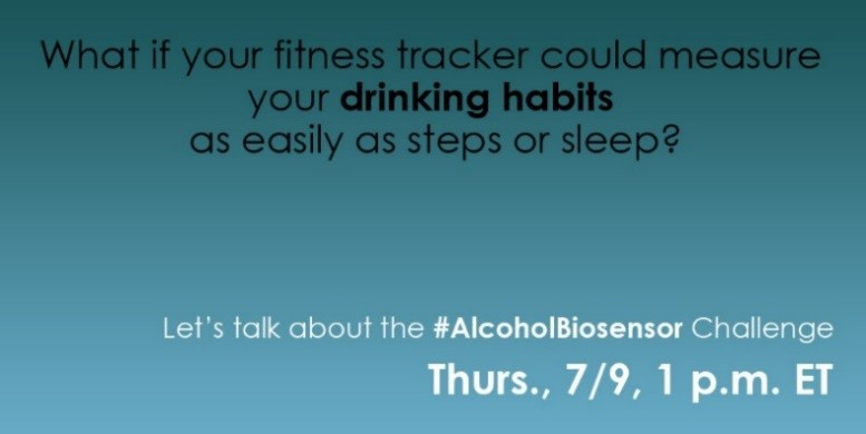 Image of ad of the talk of Alcohol Biosensor Challenge