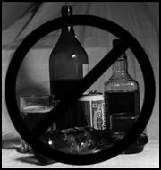 Nada de alcohol