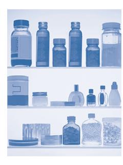 Foto de botellas de medicina