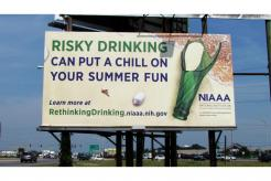 Risky Drinking billboard
