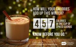 Image of cup of coffee: How will your calories add up this winter?